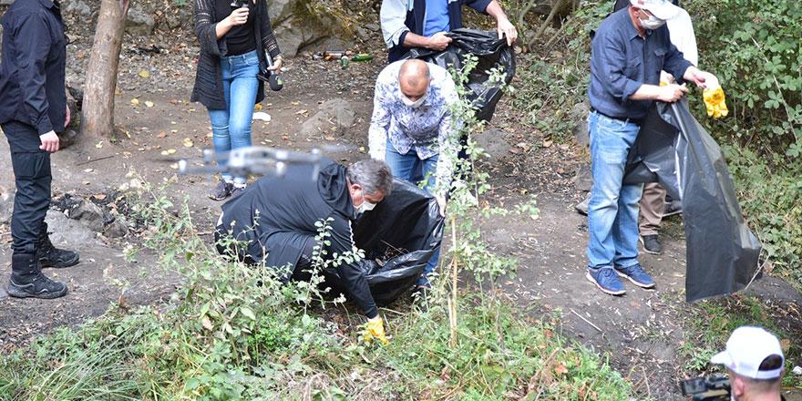 Kıbrıs Kanyonu'nda temizlik seferberliği