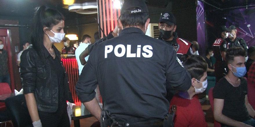 Ankara'da 750 polisle koronavirüs denetimi