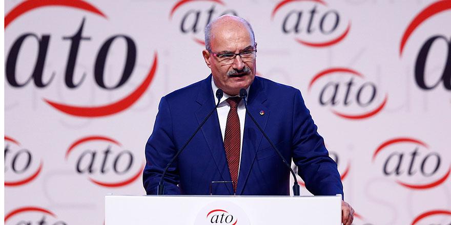 ATO Başkanı Baran'dan YEP değerlendirmesi