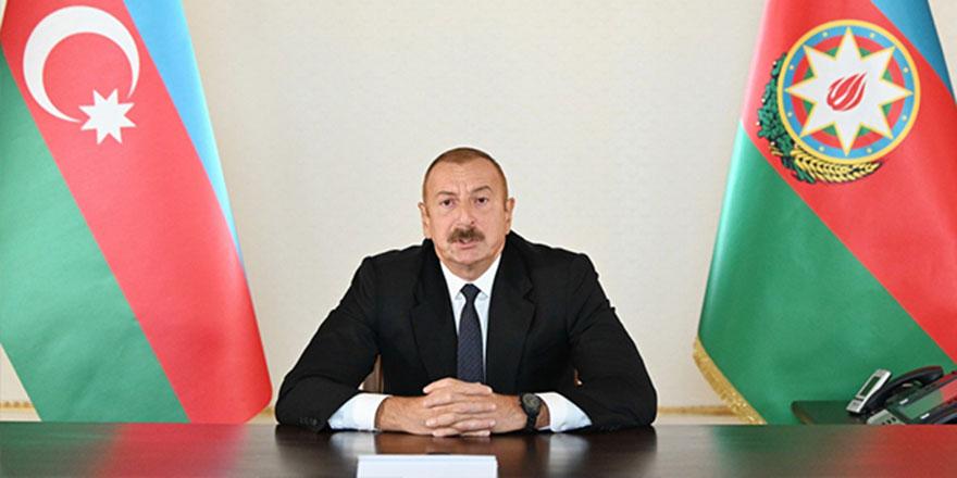 İlham Aliyev'den net mesajı
