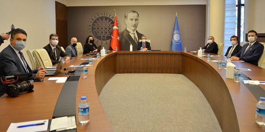 Ankara Üniversitesi'nde çevrimiçi uyum başladı