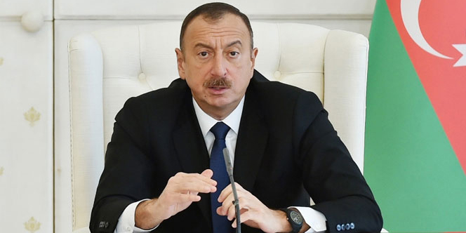 Aliyev: ''İşgal altında olan bölgeler bize verilirse barış sağlanır''