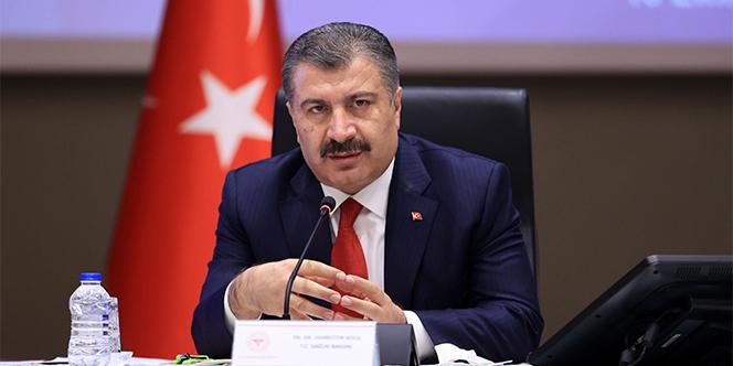 Sağlık Bakanı Koca korona virüste son durumu açıkladı