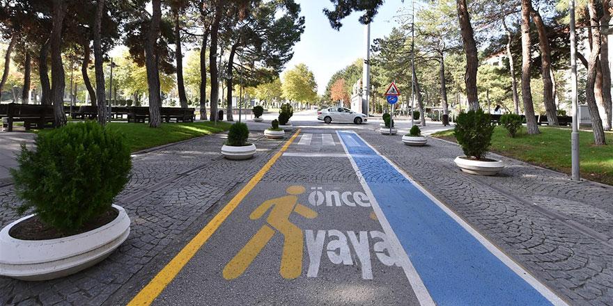 Başkent üniversitelerine bisiklet yolu