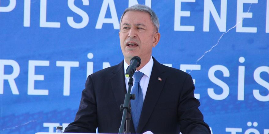 Bakan Akar'dan Hasanov'a kararlılık vurgusu