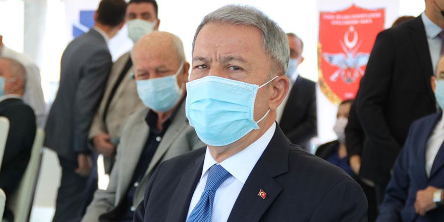 Akar: Mehmetçik, 'girilemez' denilen yerlere girdi
