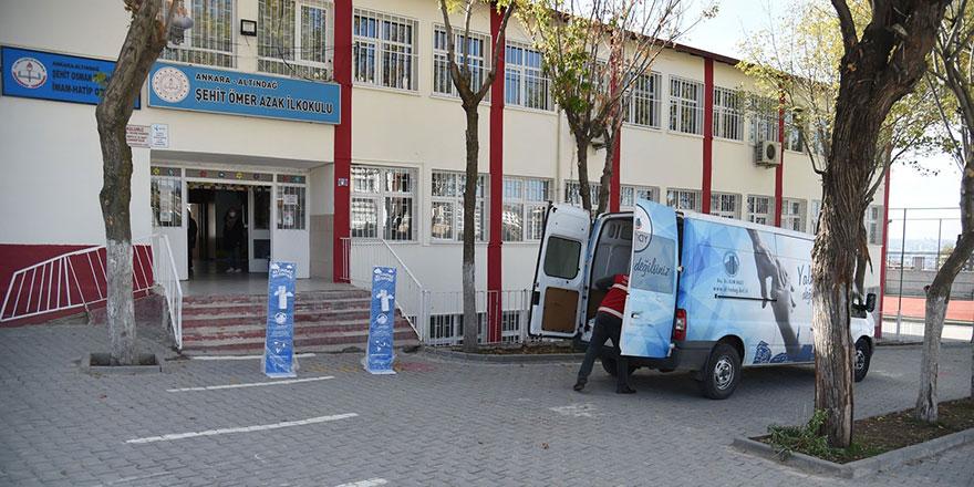 Altındağ'da 102 okulda temizlik
