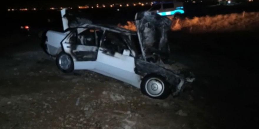 Başkent'te ehliyetsiz sürücü kaza yaptı