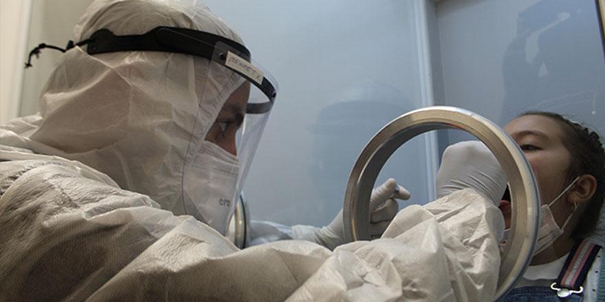 Pandemi hastanesinde yoğunluk oluştu