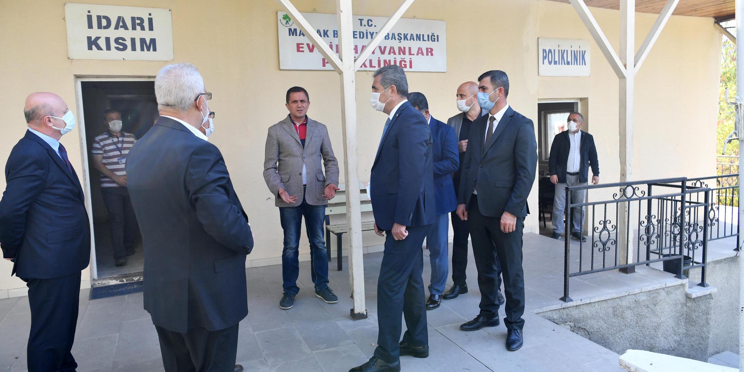 Başkan Köse'den Evcil Hayvanlar Polikliniği'ne ziyaret