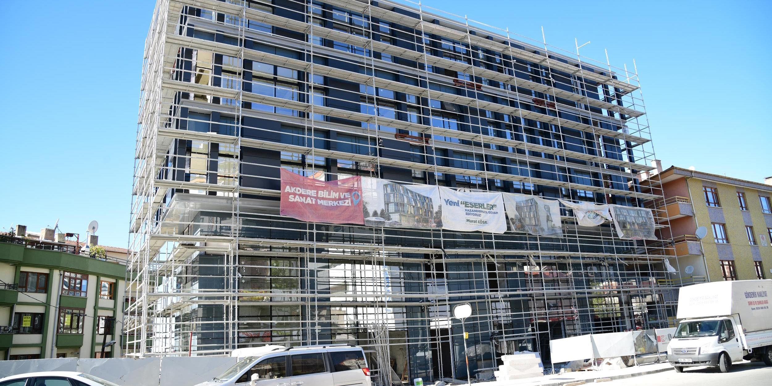 Mamak'ta projeler hız kesmeden devam ediyor