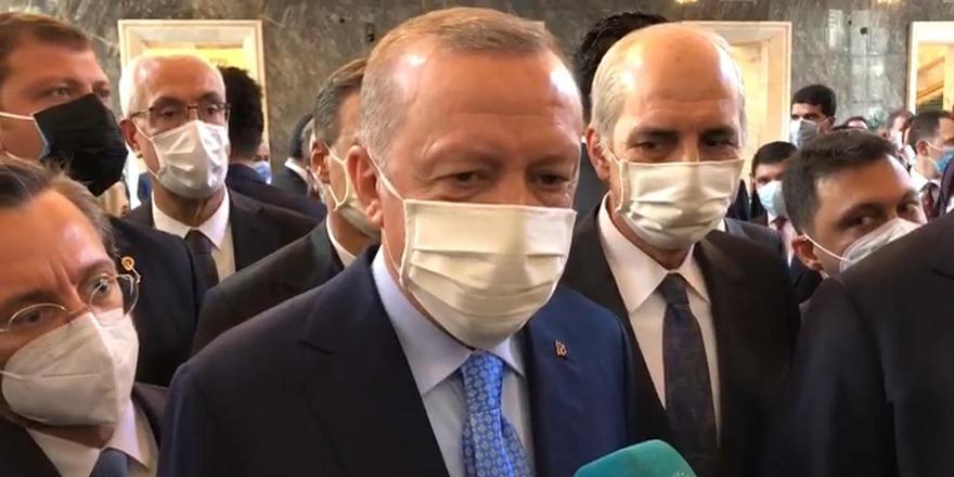 Cumhurbaşkanı Erdoğan: Kabine değişikliği asılsızdır