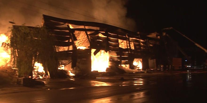 Ankara Siteler'de büyük yangın