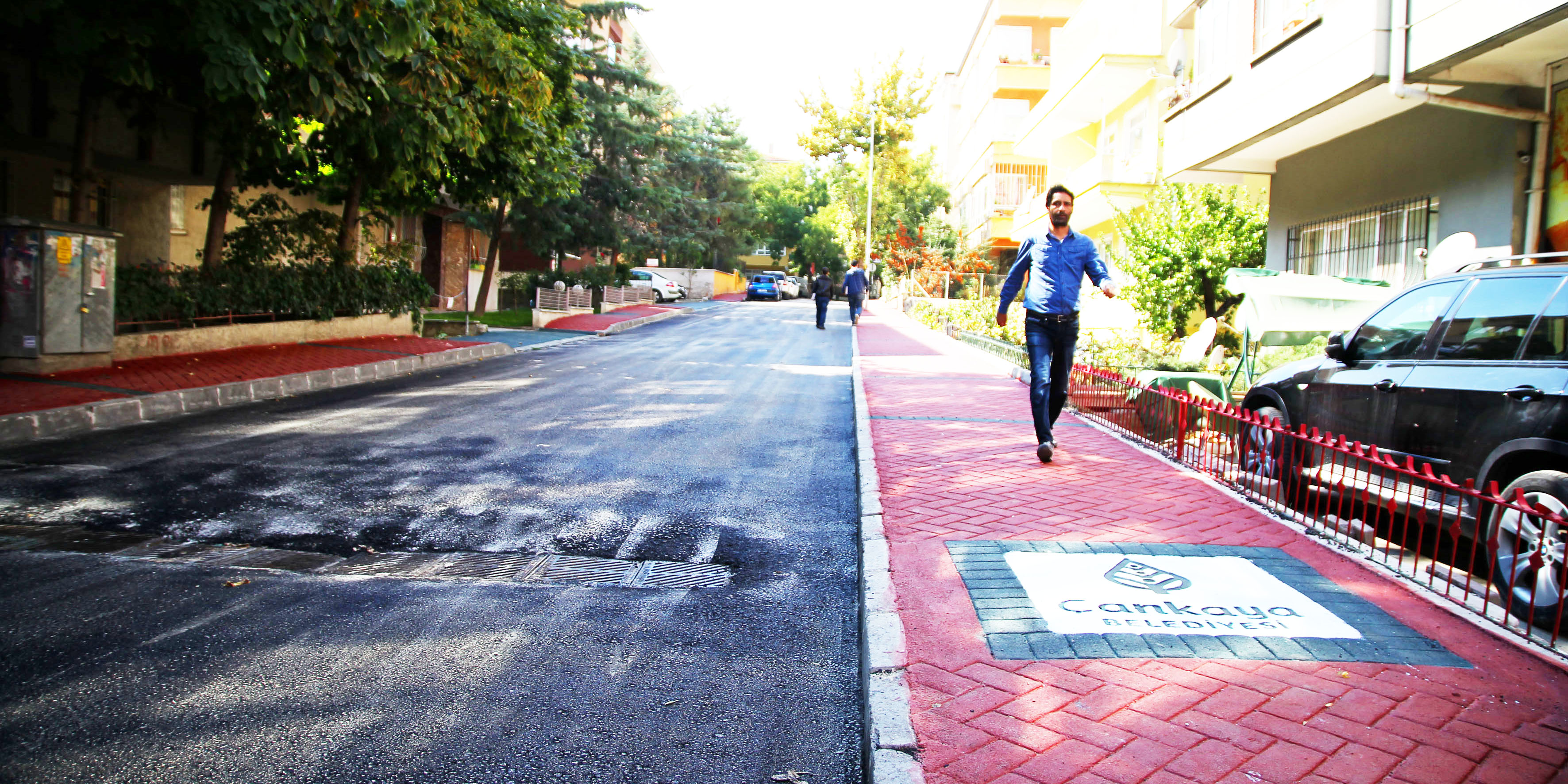 """Çankaya'da """"Sağlıklı Sokaklar Projesi"""""""