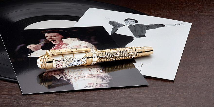 Montblanc'tan Elvis Presley özel koleksiyonu