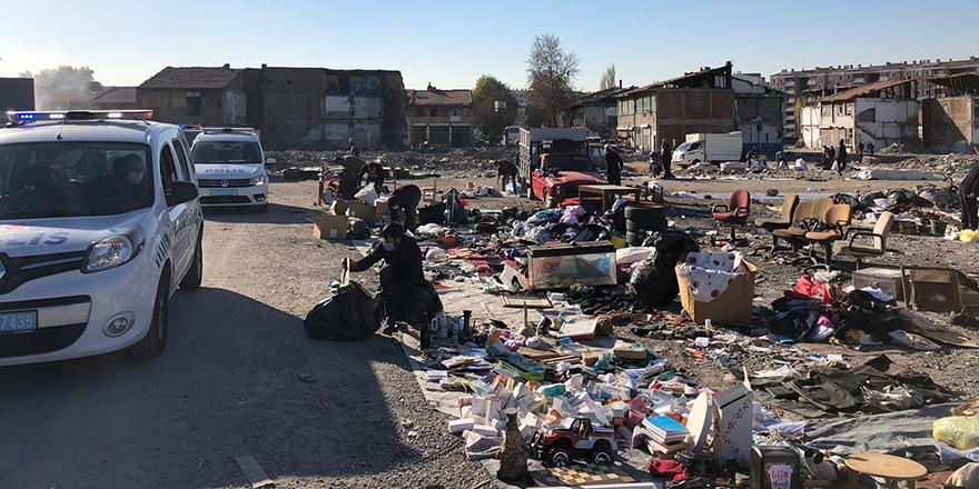 Kaçak 'bit pazarına' polis müdahalesi