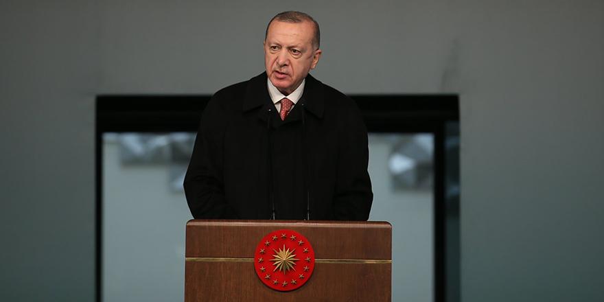 Cumhurbaşkanı Erdoğan'dan islamofobi açıklaması