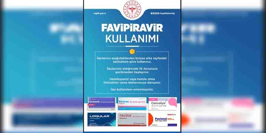 Covid-19 ilaçlarının kullanımı için broşürler hazırlandı