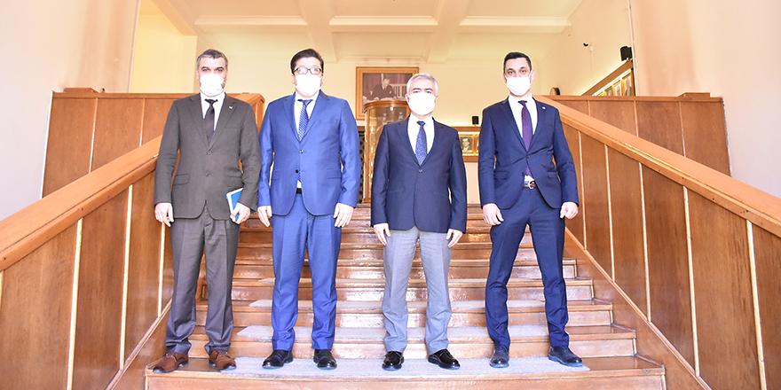 TKDK İl Koordinatörlüğünden Ankara Üniversitesi'ne ziyaret