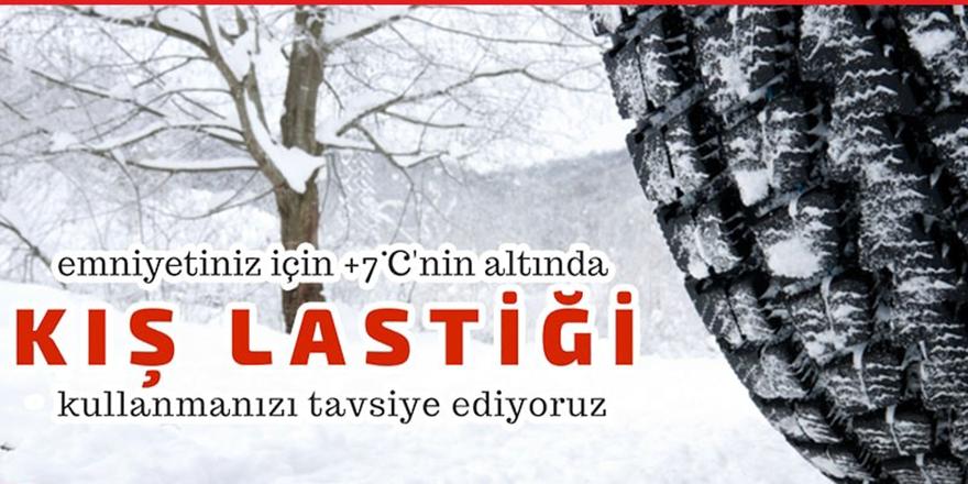 ATO Başkanı Baran'dan kış lastiği uyarısı