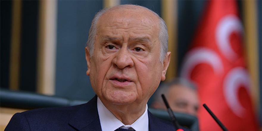 Bahçeli'den CHP'ye eleştiri