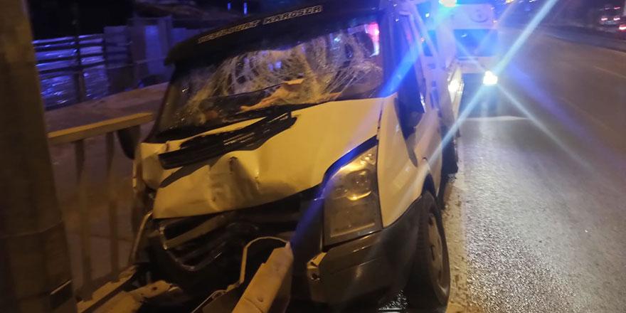 Sincan'da trafik kazası