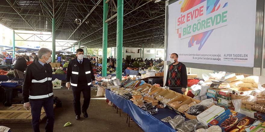 Çankaya'da semt pazarları hafta içi kurulacak