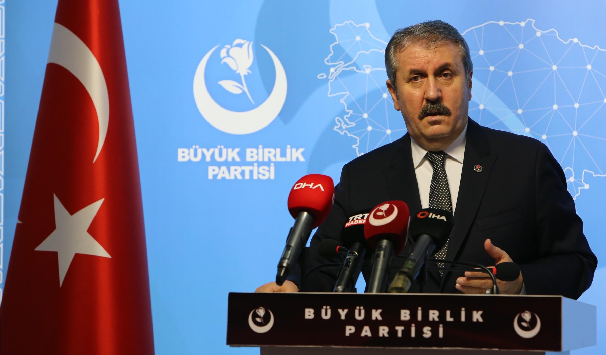 Destici'den CHP'li milletvekiline tepki