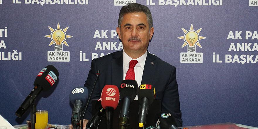 AK Partili Köse, Başkan Yavaş'ın 1 yılını değerlendirdi