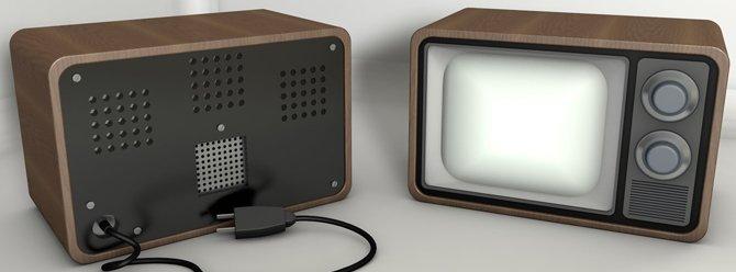 38 yıllık televizyonda Chromecast çalıştırdılar!