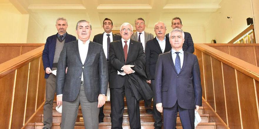 Kırşehirli Dernekler Federasyonu ve Vakfı'ndan  Prof. Dr. Hasan Hüseyin Atar'a ziyaret