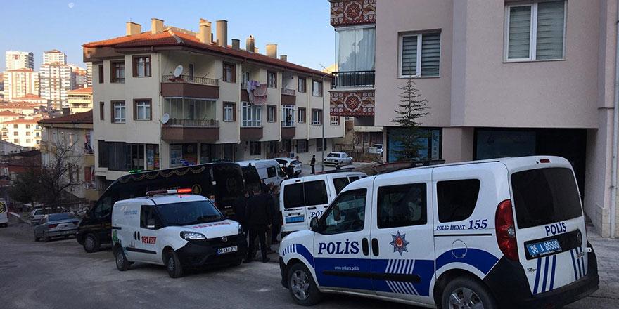 Başkent'te apartman garajında 3 kişi ölü bulundu