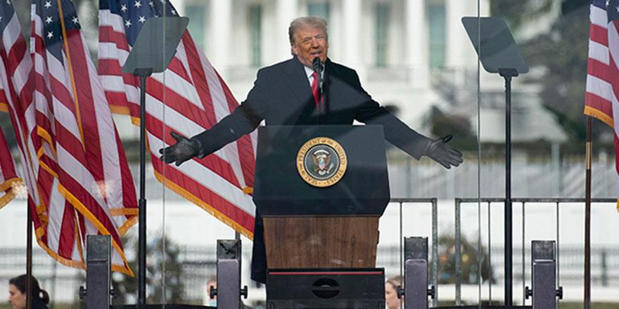 Trump: 'Sizler haklısınız ama barış içinde evinize dönün'