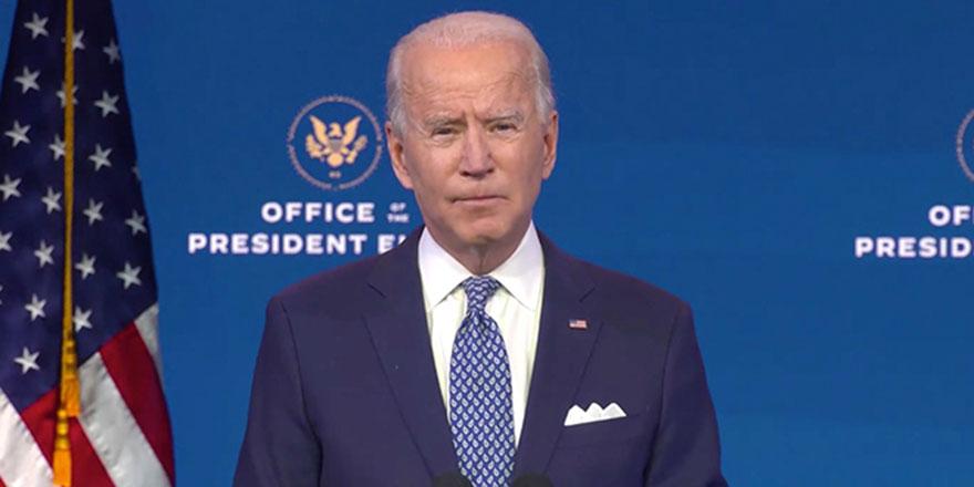 Biden'dan eylemcilere 'yerli terörist' benzetmesi