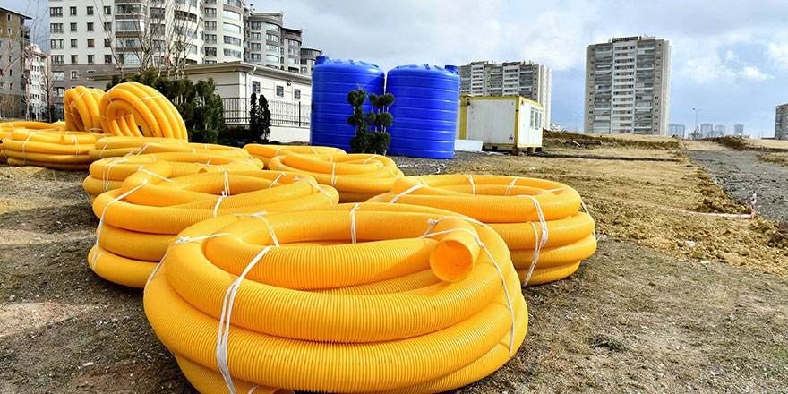 Başkent'te parklar, depolanacak yağmur suları ile sulanacak