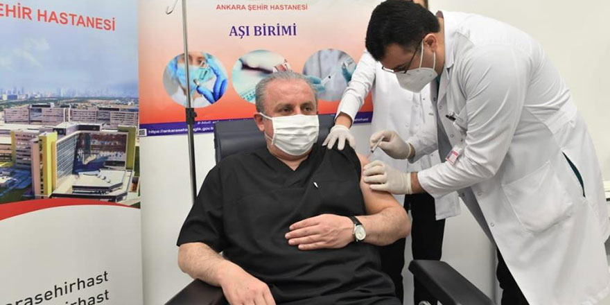 Şentop: Ben herkese aşıyı tavsiye ediyorum