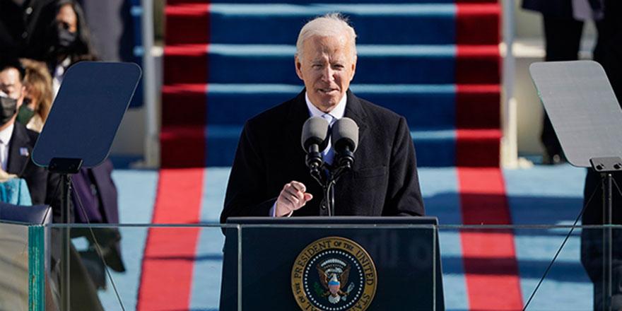 ABD Başkanı Biden: 'Demokrasi zafer kazandı'