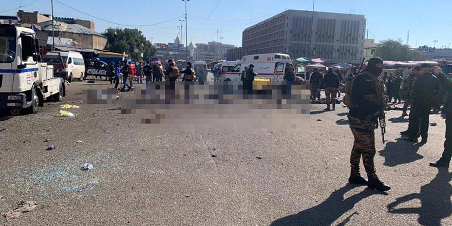 Bağdat'ta iki intihar saldırısı: 12 ölü