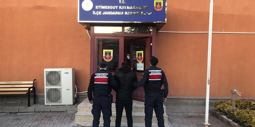 Etimesgut'a dadanan hırsızlık çetesi çökertildi