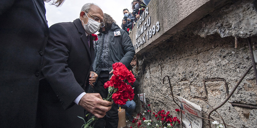 Kemal Kılıçdaroğlu, Uğur Mumcu'yu andı