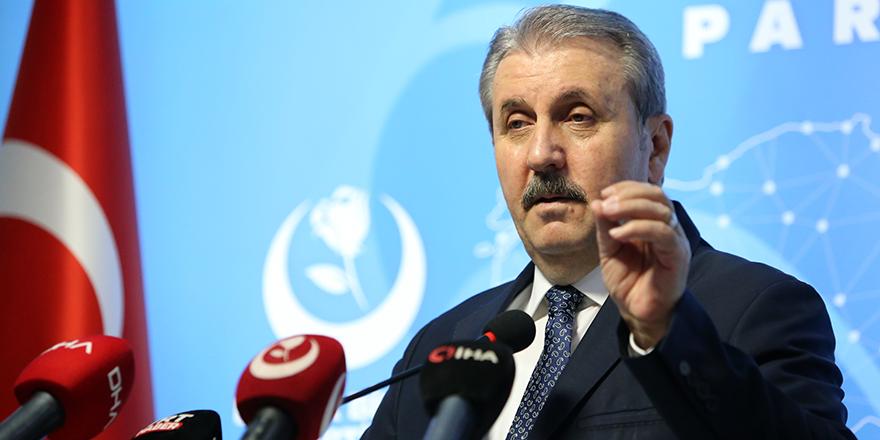 """Destici: """"HDP'nin kapatılması için harekete geçilmeli"""""""