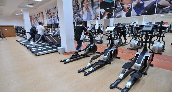 Keçiören'de engellilere özel spor salonu