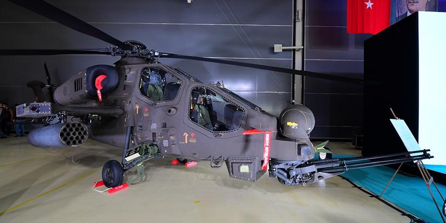 İnsansız taarruz helikopteri görüntülendi