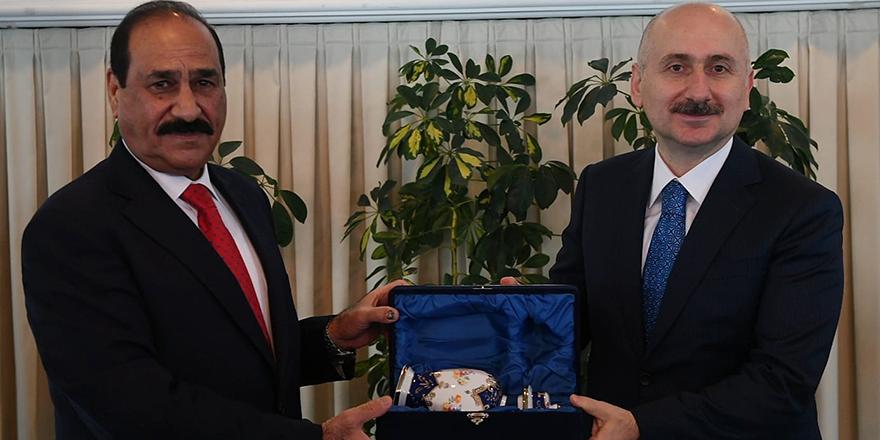 Bakan Karaismailoğlu, Iraklı mevkidaşı Bandar ile görüştü