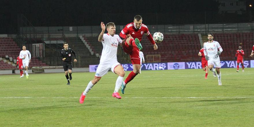 Ankaraspor galibiyeti koruyamadı