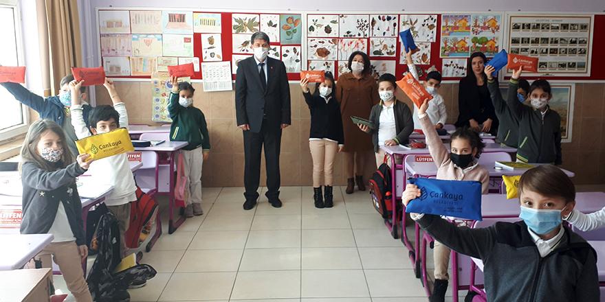 Çankaya'dan öğrenciler ve öğretmenlere sağlık seti