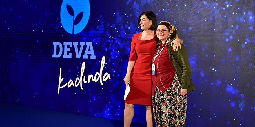 'DEVA Kadında Zirvesi' Ankara'da yapıldı
