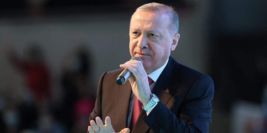 """Cumhurbaşkanı Erdoğan: """"Çok nankörsünüz"""""""