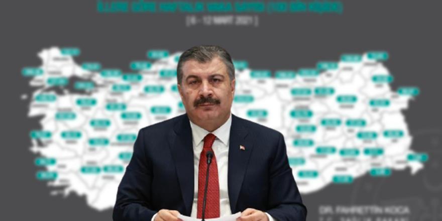 Ankara'da günlük vaka sayısı kaç oldu?