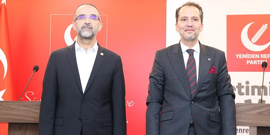 HÜDA PAR'dan Yeniden Refah Partisi'ne ziyaret